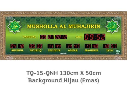 Iqomah countdown nya 1 jam….